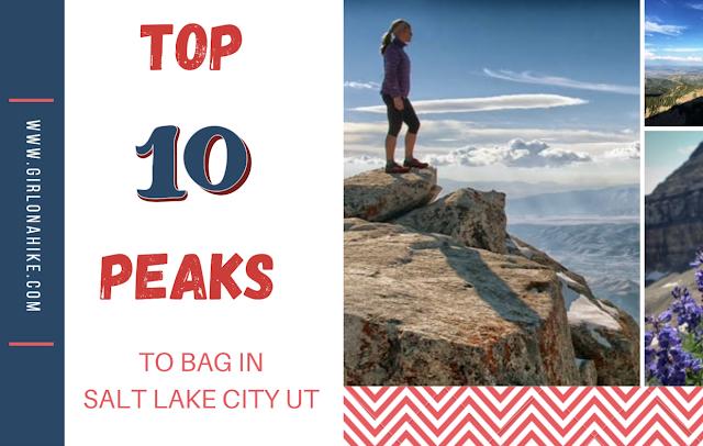 Top 10 Peaks to Bag in Salt Lake City!