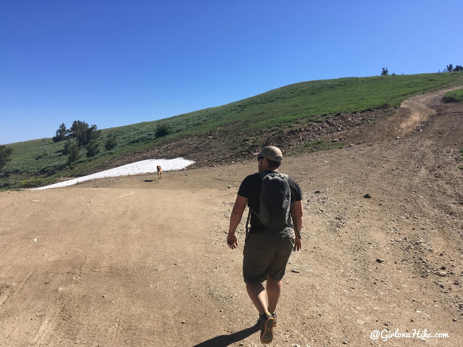 Hiking to the Smith Creek Lakes, Wasatch Mountains