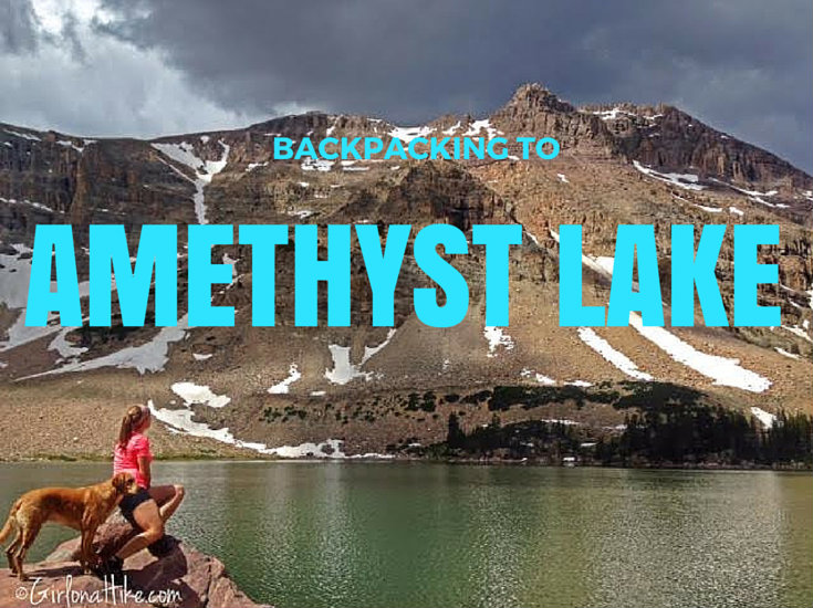 Backpacking to Amethyst Lake, Uintas, Hiking in Utah with Dogs