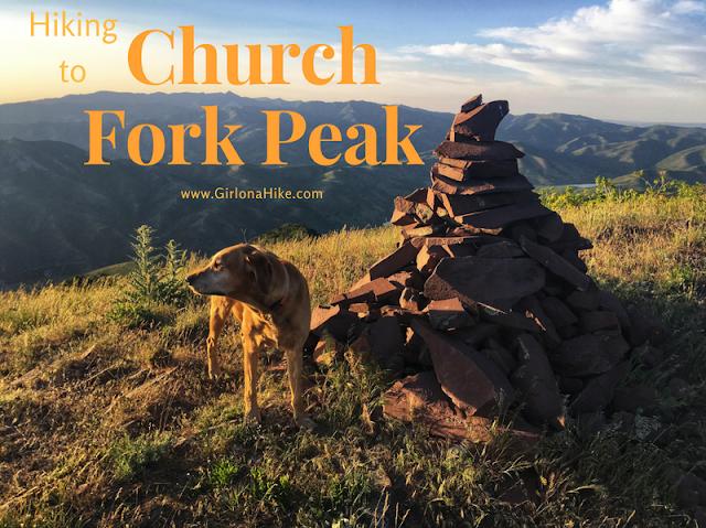 Hiking to Church Fork Peak, Millcreek Canyon