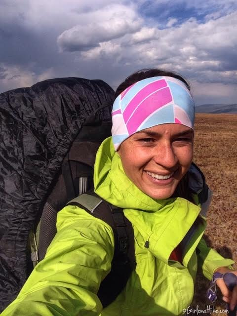 Backpacking to Red Castle Lakes, Uintas, Fitness Fox Headbands