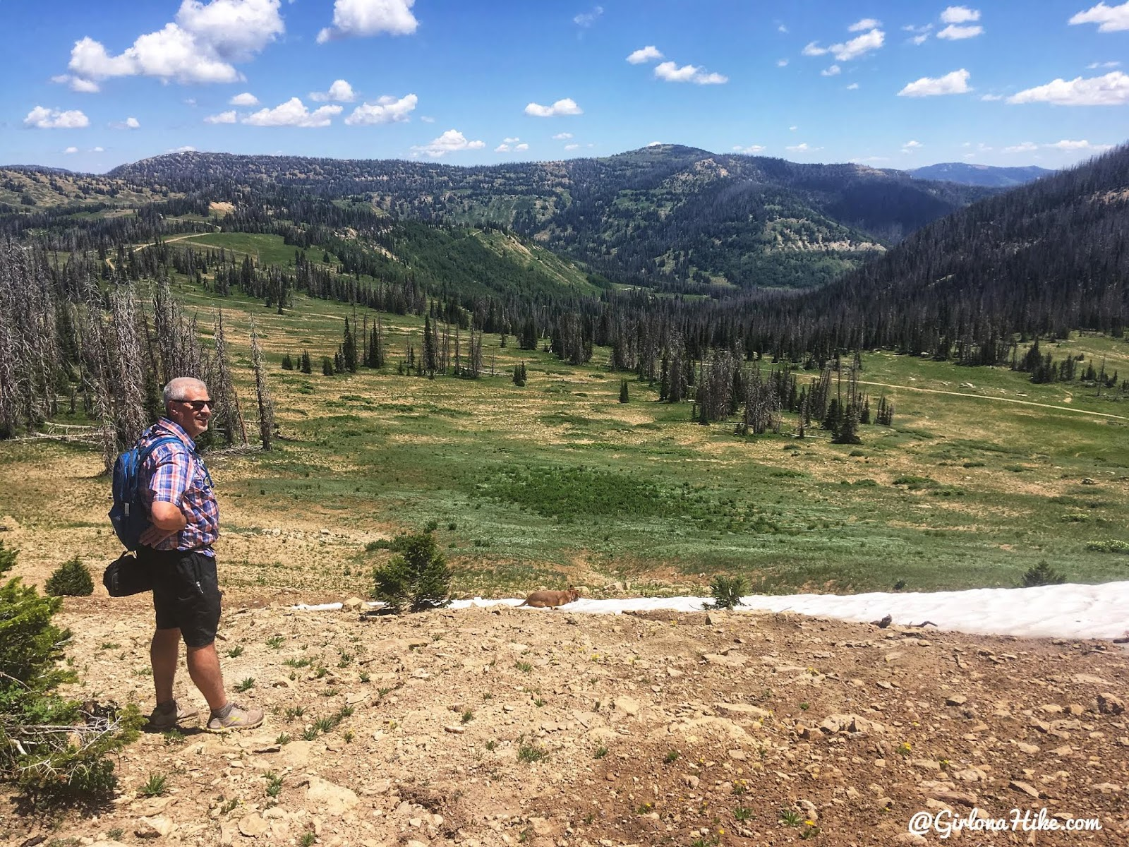 Hiking to South Tent Mountain, Sanpete County High Point