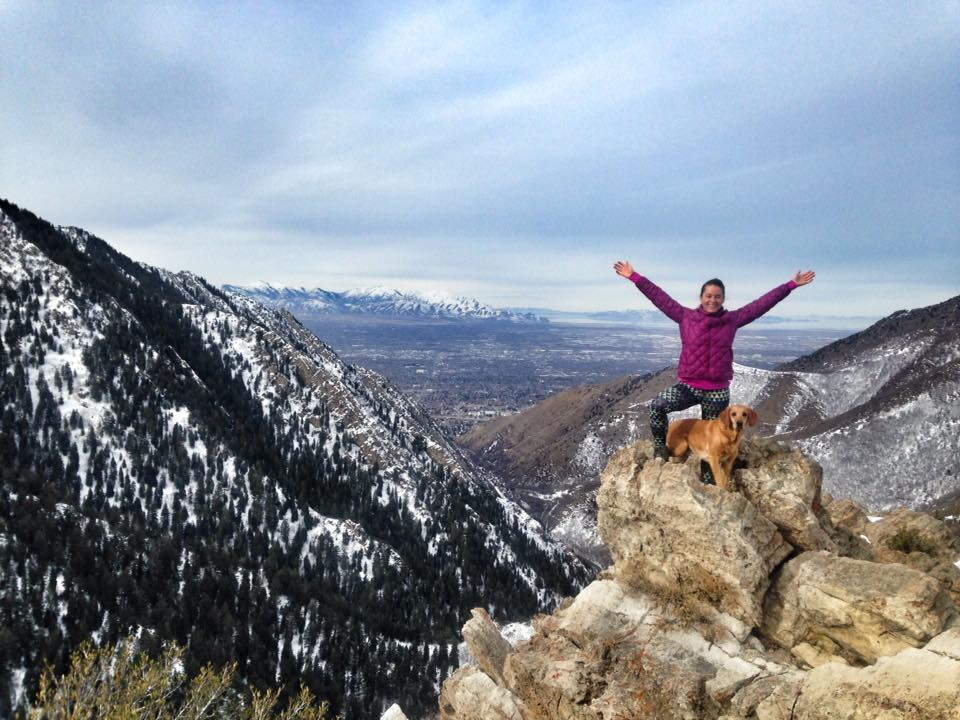 Hiking to Desolation Overlook, Millcreek Canyon, Utah, Hiking in Utah with Dogs