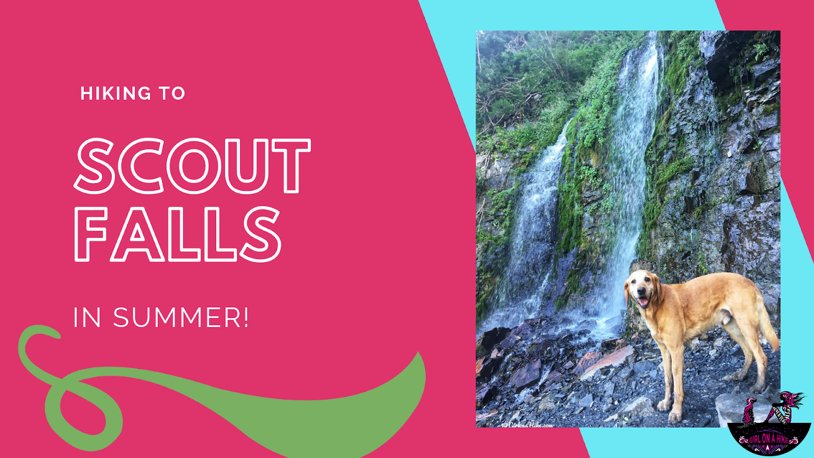 Hiking to Scout Falls - In Summer!, Scout Falls American Fork Canyon, Hiking the Timpooneke Trail, utah waterfalls