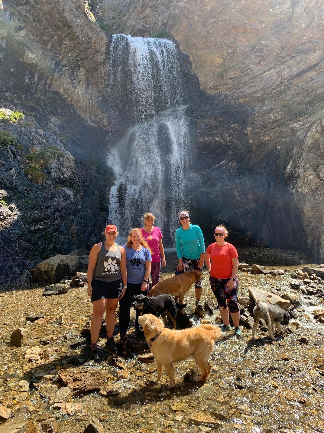 Hiking to Adam's Canyon Waterfall