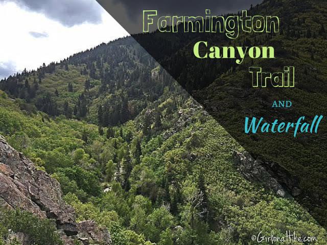 Hiking to The Farmington Canyon Waterfall