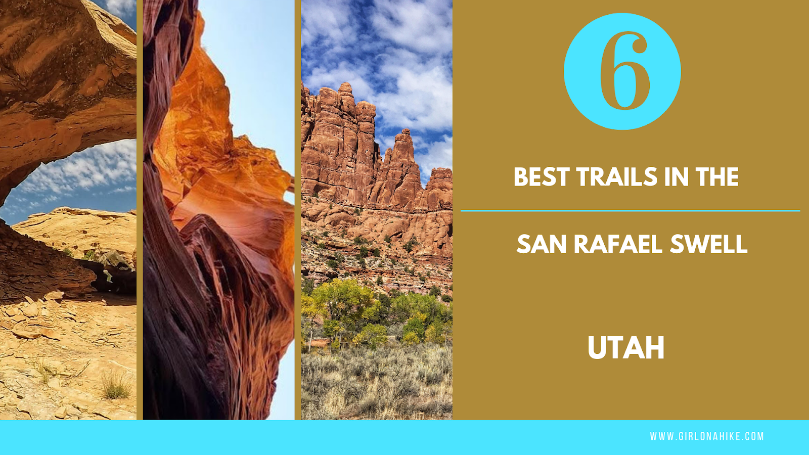 The 6 Best Trails in the San Rafael Swell
