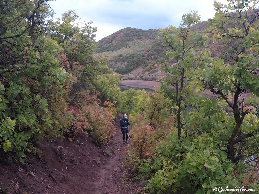 Hiking the Skull Crack Trail, Causey Reservoir