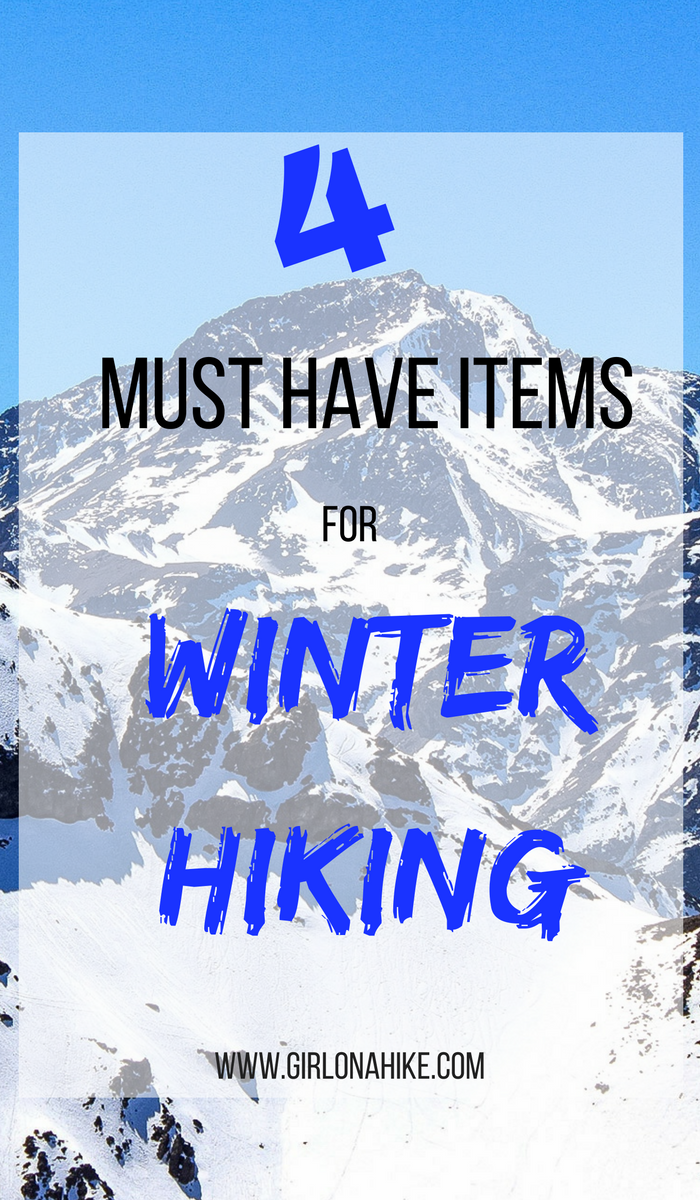 4 Must Hike Items for Winter Hiking, Essential Winter Hiking Gear