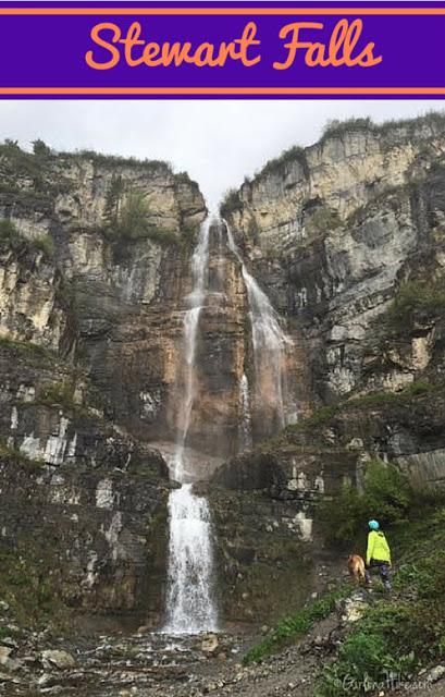 Hiking to Stewart Falls