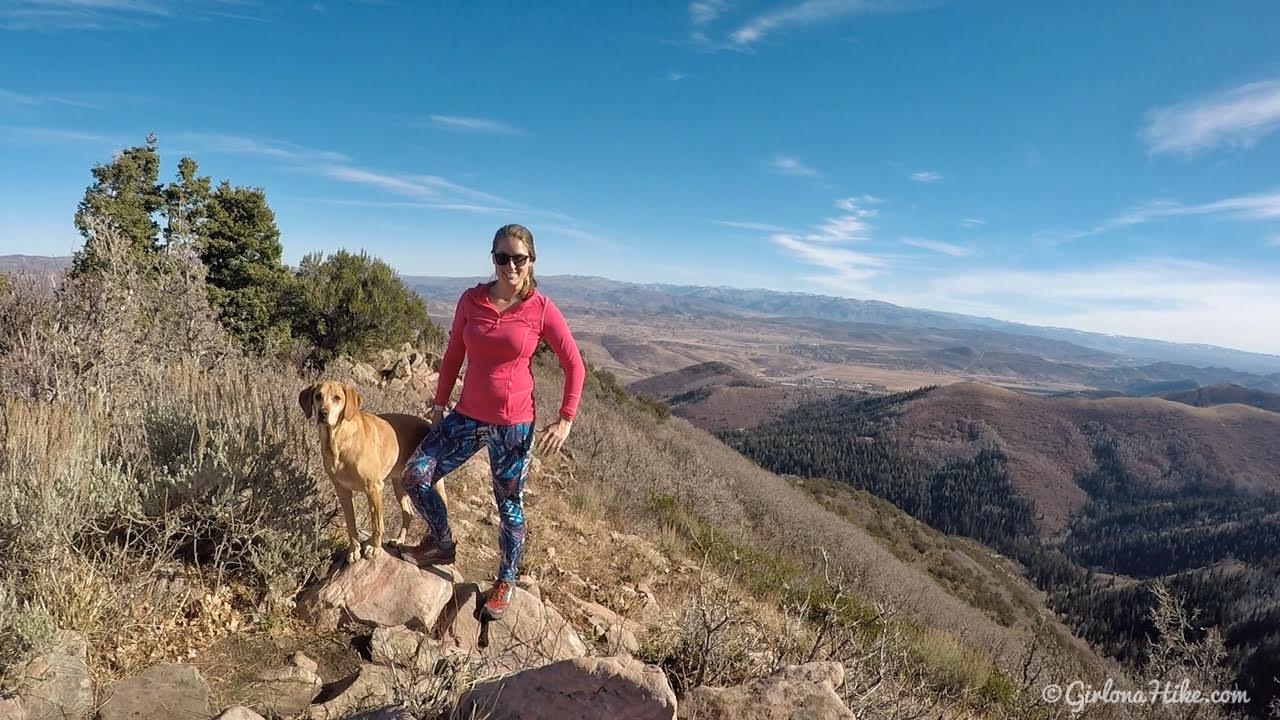 Hiking to Summit Park Peak