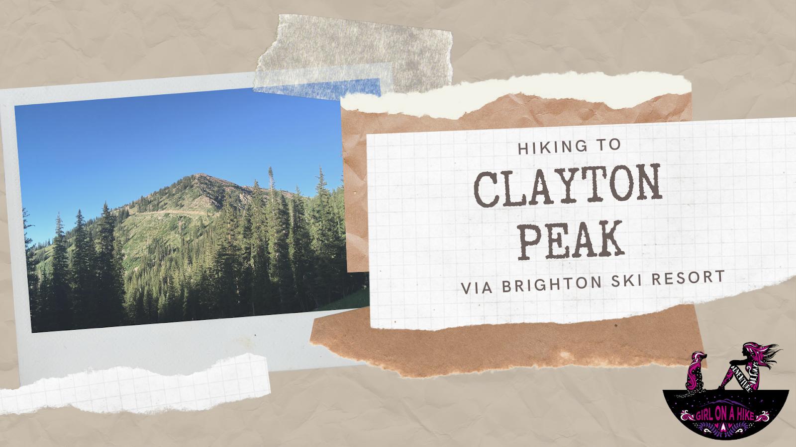 Hiking to Clayton Peak via Brighton Ski Resort