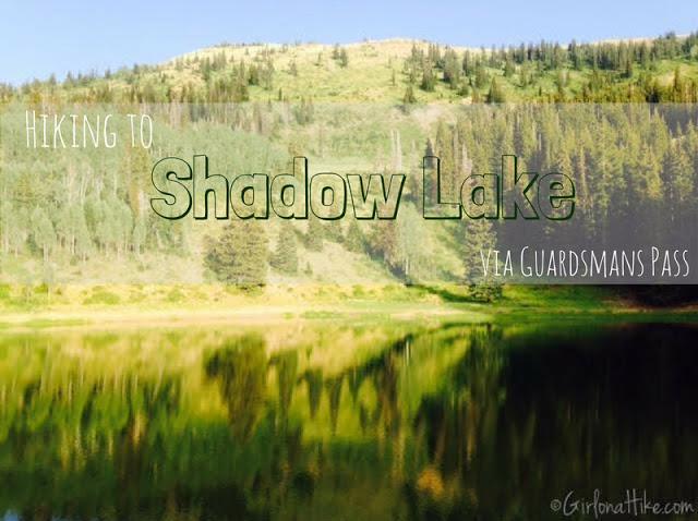 Shadow Lake Guardsmans Pass, Utah