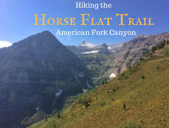 The Top 10 Hikes in American Fork Canyon, American fork canyon best hikes and trails, best views in American fork canyon, Horse Flat Trail, Primrose Overlook trail