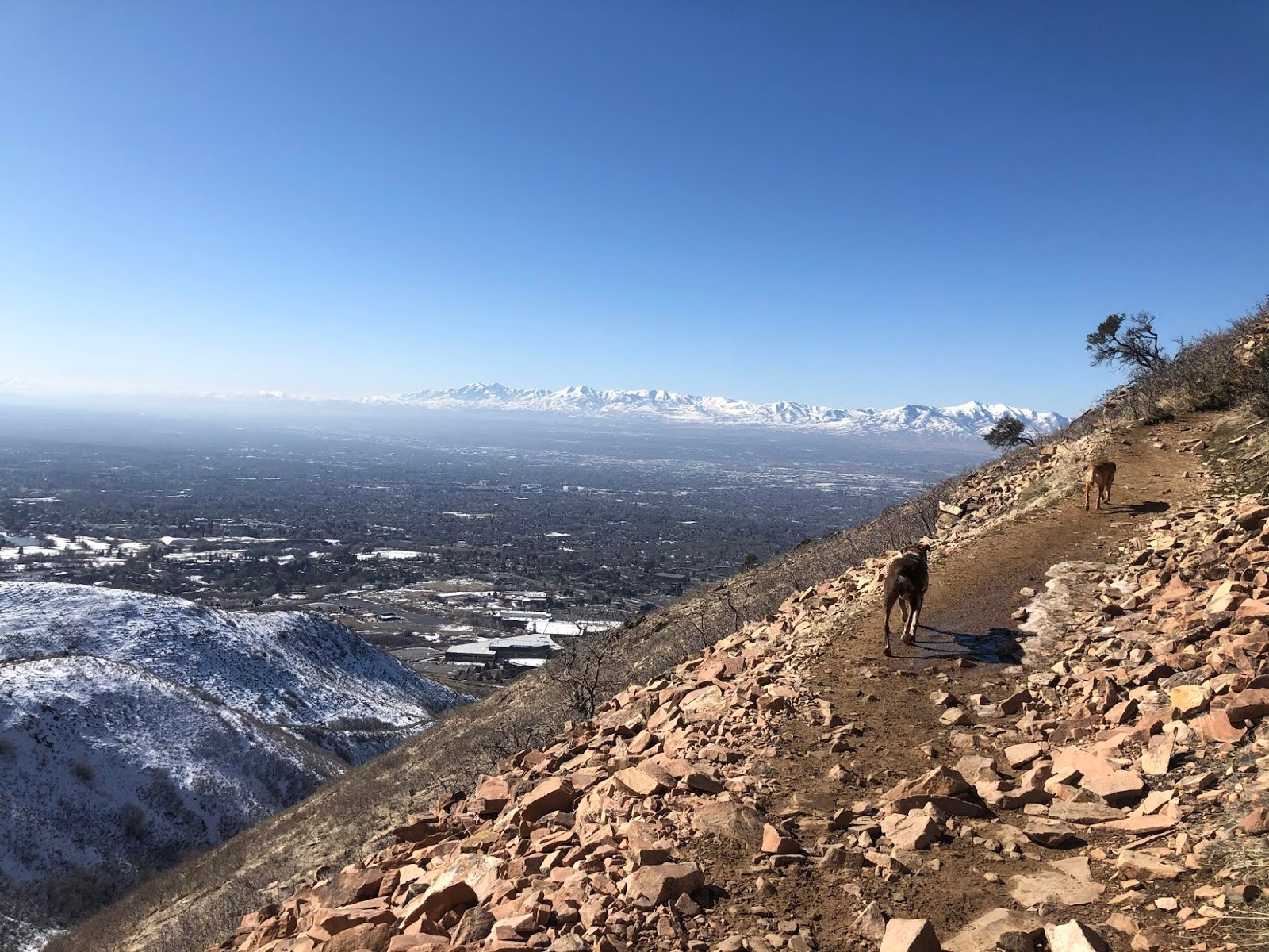 Hiking to The Living Room, Salt Lake City