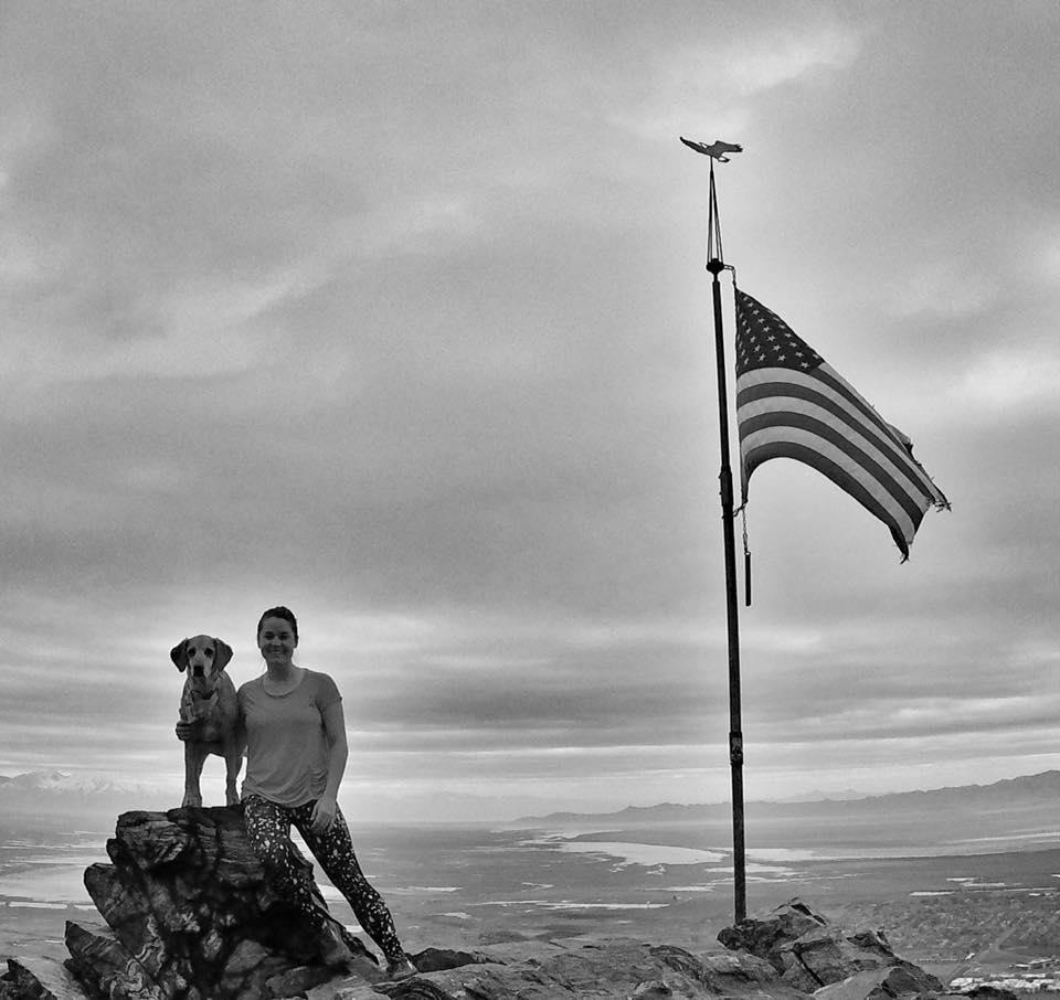 Hiking to Flag Rock, Farmington, Utah, Hiking in Utah with Dogs, Hiking in Utah with Kids