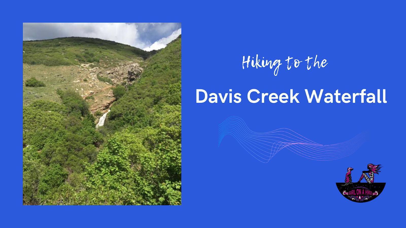 Hiking to the Davis Creek Waterfall, Utah, dogs that hike in utah