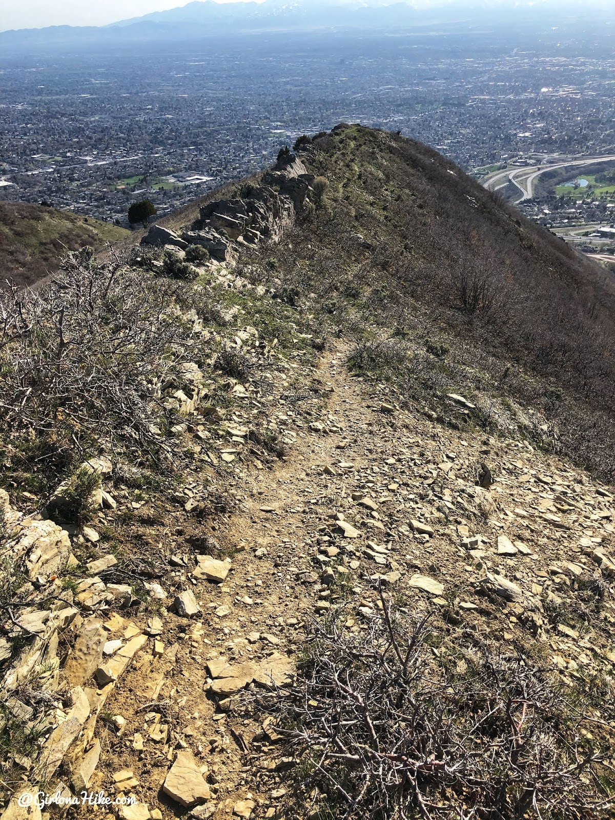 Hiking to Parley's Canyon Overlook