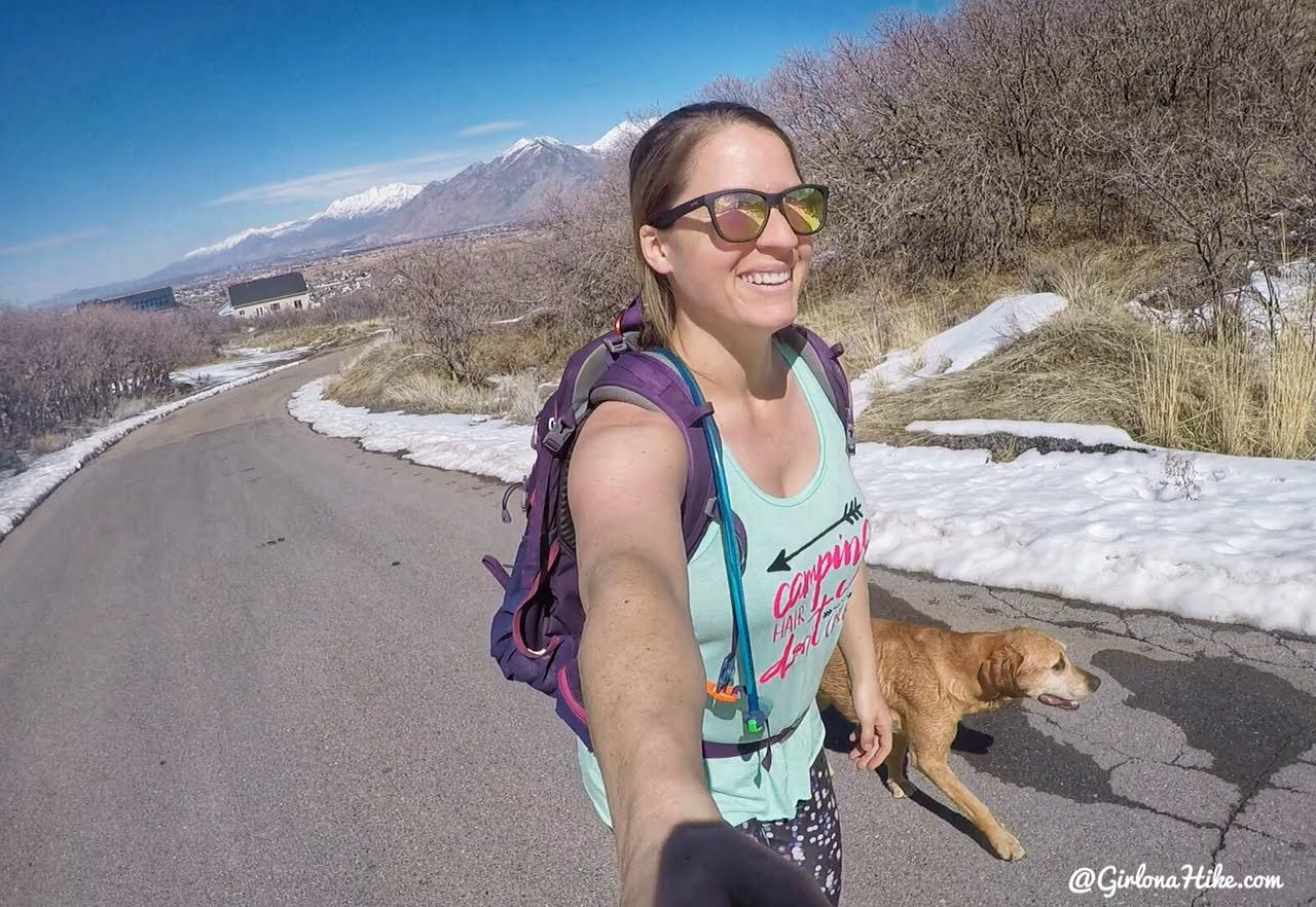 Hiking to the Spanish Fork Cross, Hiking in Utah with Dogs, Kid friendly hikes in SLC