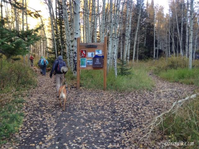 Hiking to Silver Lake & Silver Glance Lake, American Fork Canyon, Utah