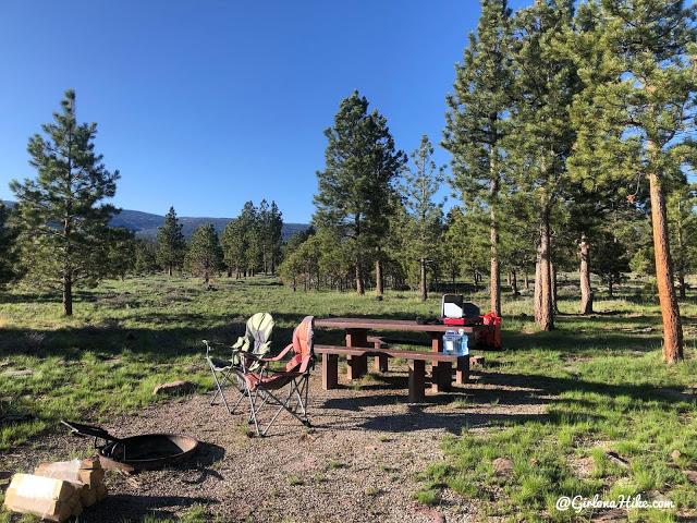 Camping & Exploring at Flaming Gorge National Rec Area, camping at Red Canyon Overlook