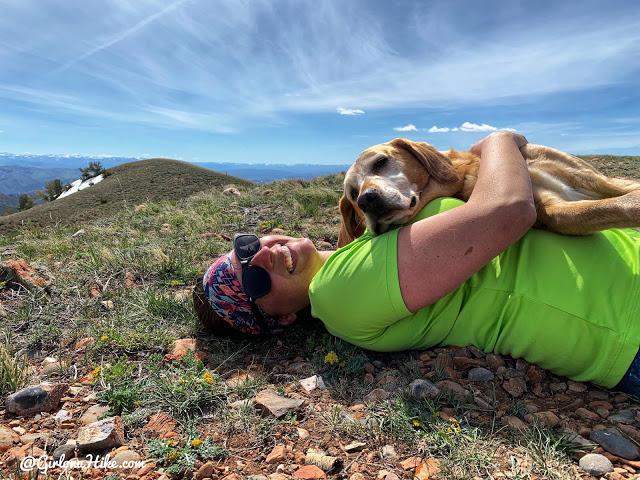 Hiking to Lookout Peak