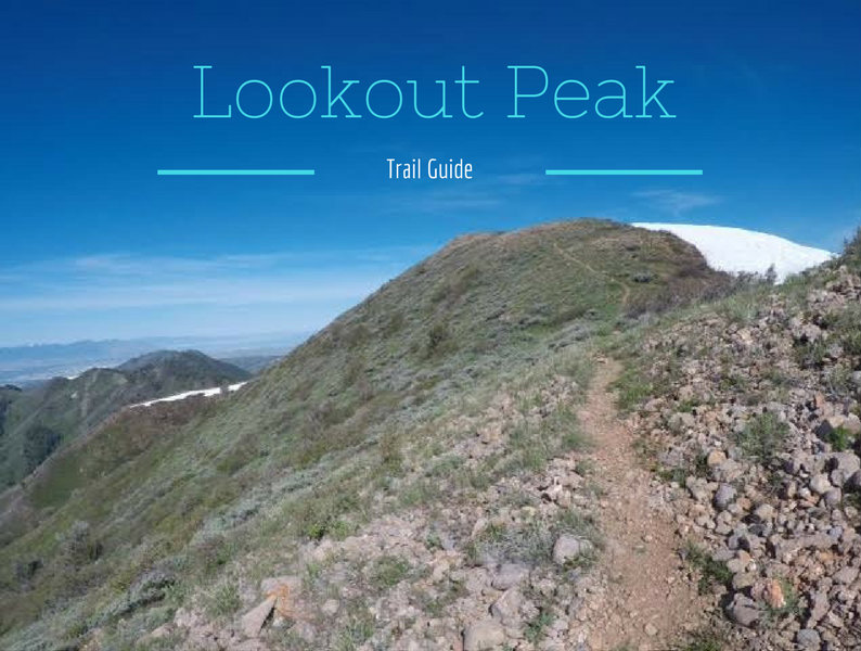 Hiking to Lookout Peak, Killyons Canyon, Emigration Canyon, Utah