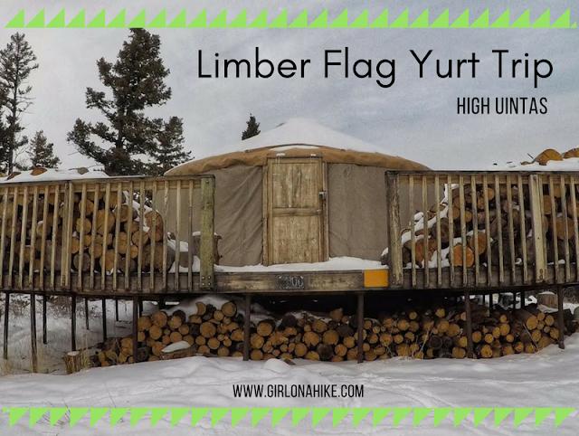 Limber Flag Yurt, Uintas
