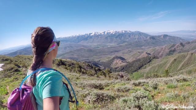 Hiking to Lookout Peak, Killyons Canyon, Utah