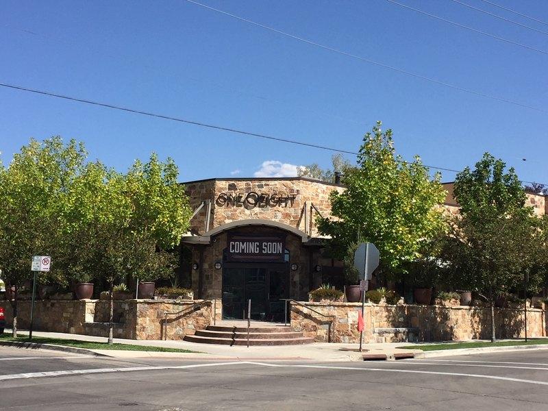 Dog Friendly Restaurant Patios in Salt Lake City, One 0 Eight