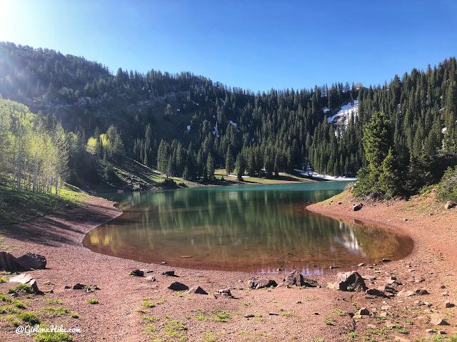 Hiking Desolation Lake & Peak