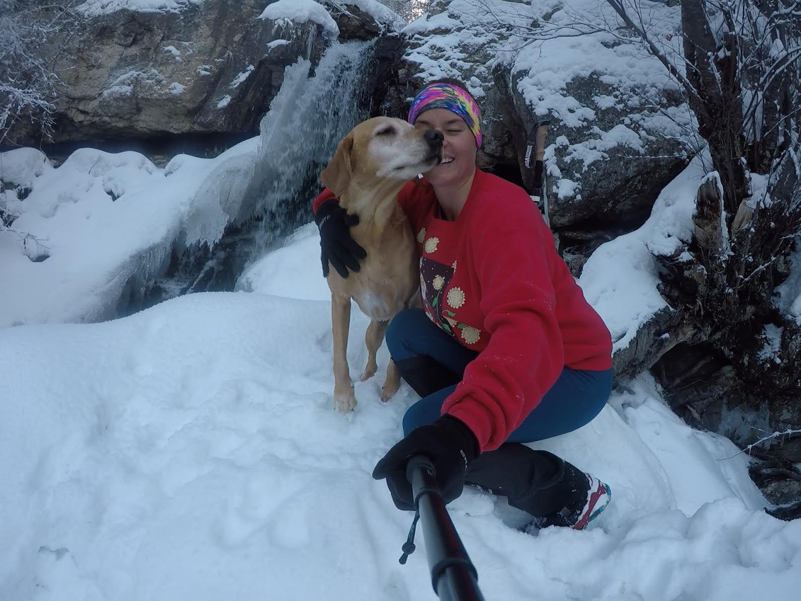 Hiking to the Deuel Creek Waterfall