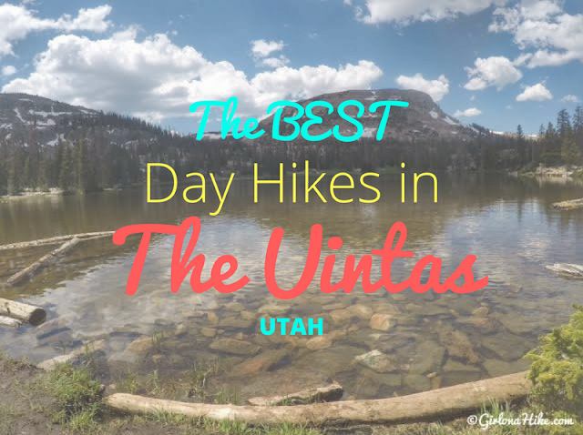 The Best Backpacking Trips in the Uintas, best day hikes in the uintas