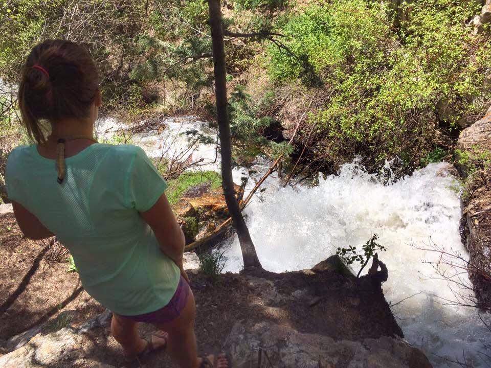 Hiking Deuel Creek in Centerville, Utah, Deuel Creek Waterfall, Hiking in Utah with Dogs, Hiking Centerville Canyon Utah