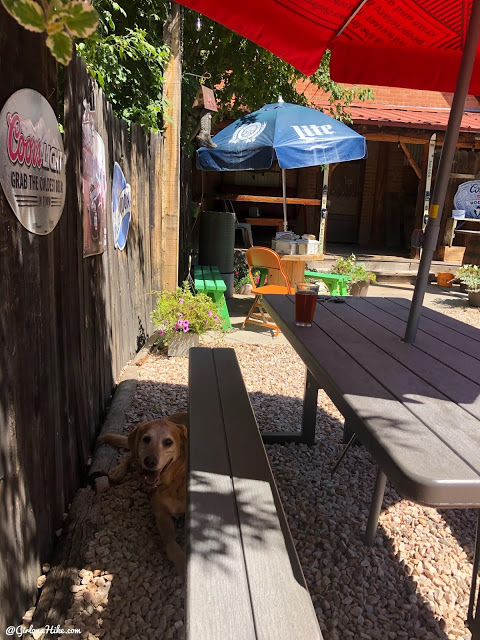 Shooting Star Saloon dog friendly patio