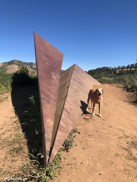Hike to the Paper Airplane at Powder Mountain