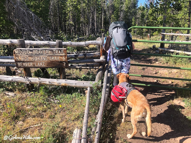 Backpacking to Beaver & Coffin Lakes, High Uintas