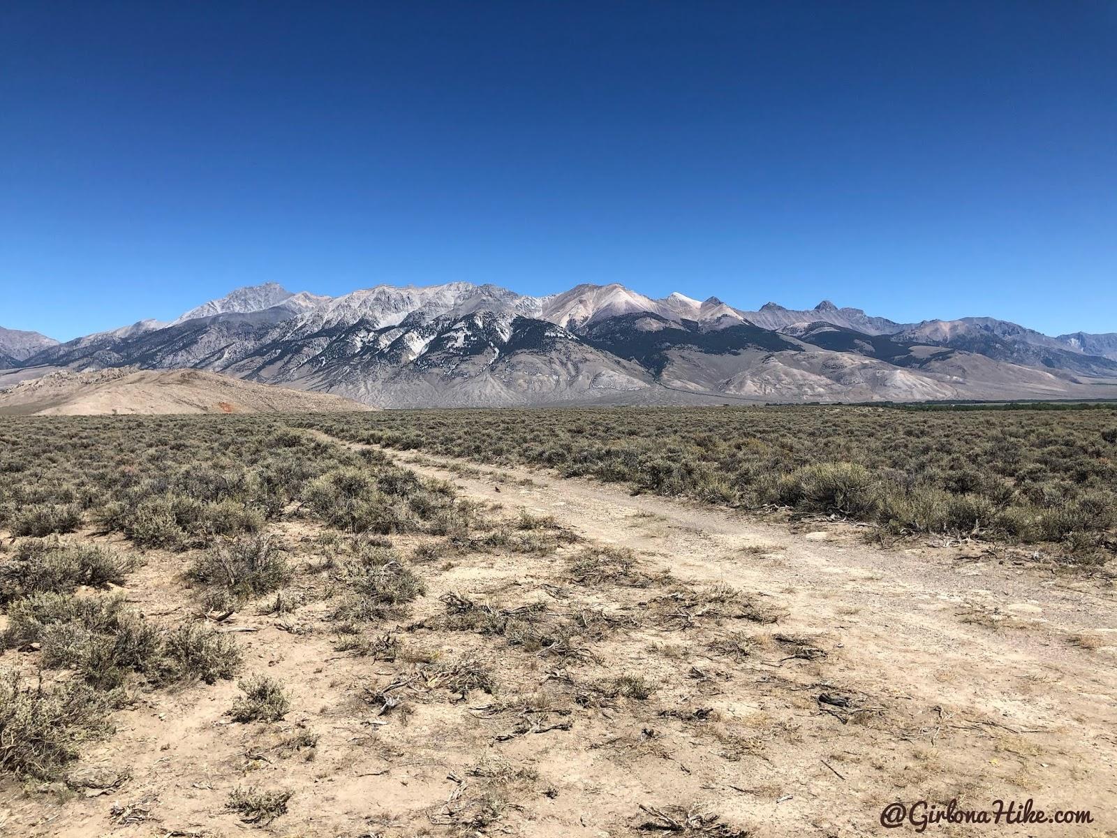 Hiking to Mt.Borah, Idaho State High Point