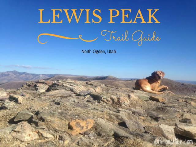 Hiking to Lewis Peak North Ogden