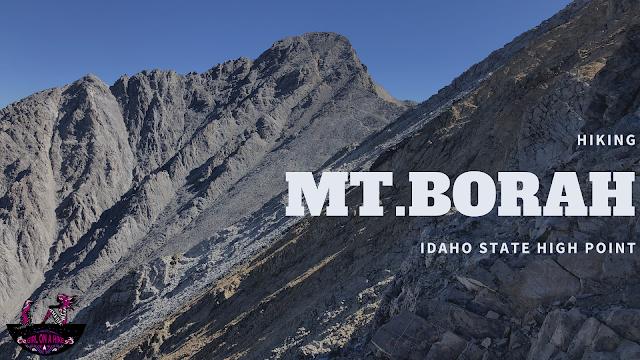 Hiking Mt.Borah, Idaho State High Point