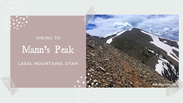 Hiking to Mann's Peak