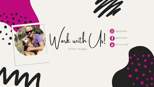 Work With Us - Girl on a Hike