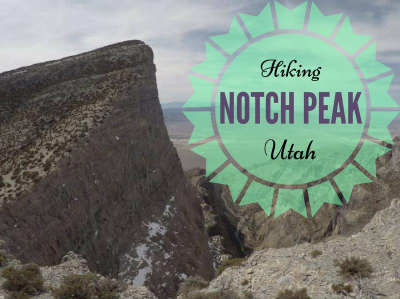 Hiking to Notch Peak