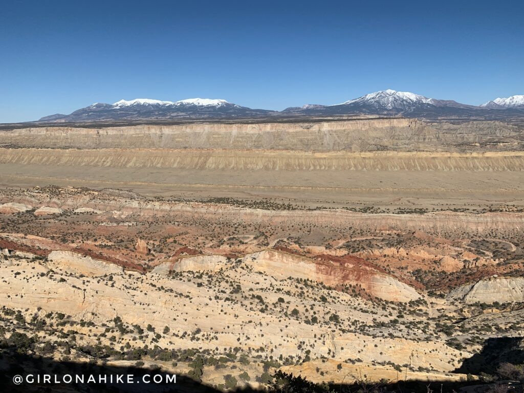 Hiking Upper Muley Twist, Capitol Reef National Park