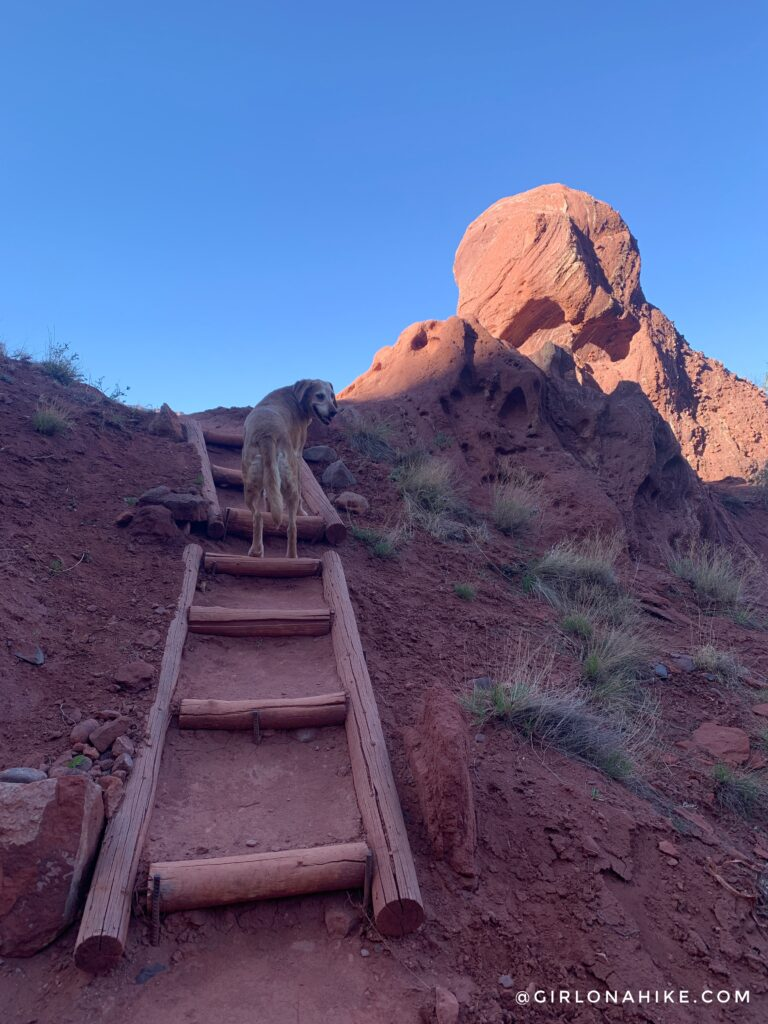 Hiking The Fisher Towers, Moab