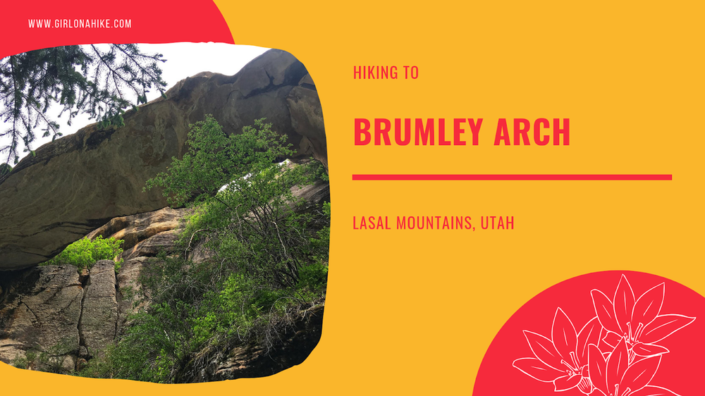 Hike to Brumley Arch, The Best Moab Arch Hikes Outside of Arches National Park