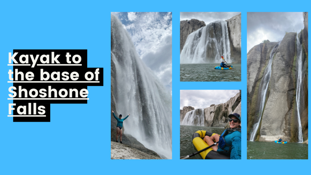 The 6 Best Things to do in Twin Falls, Kayak to the base of Shoshone Falls