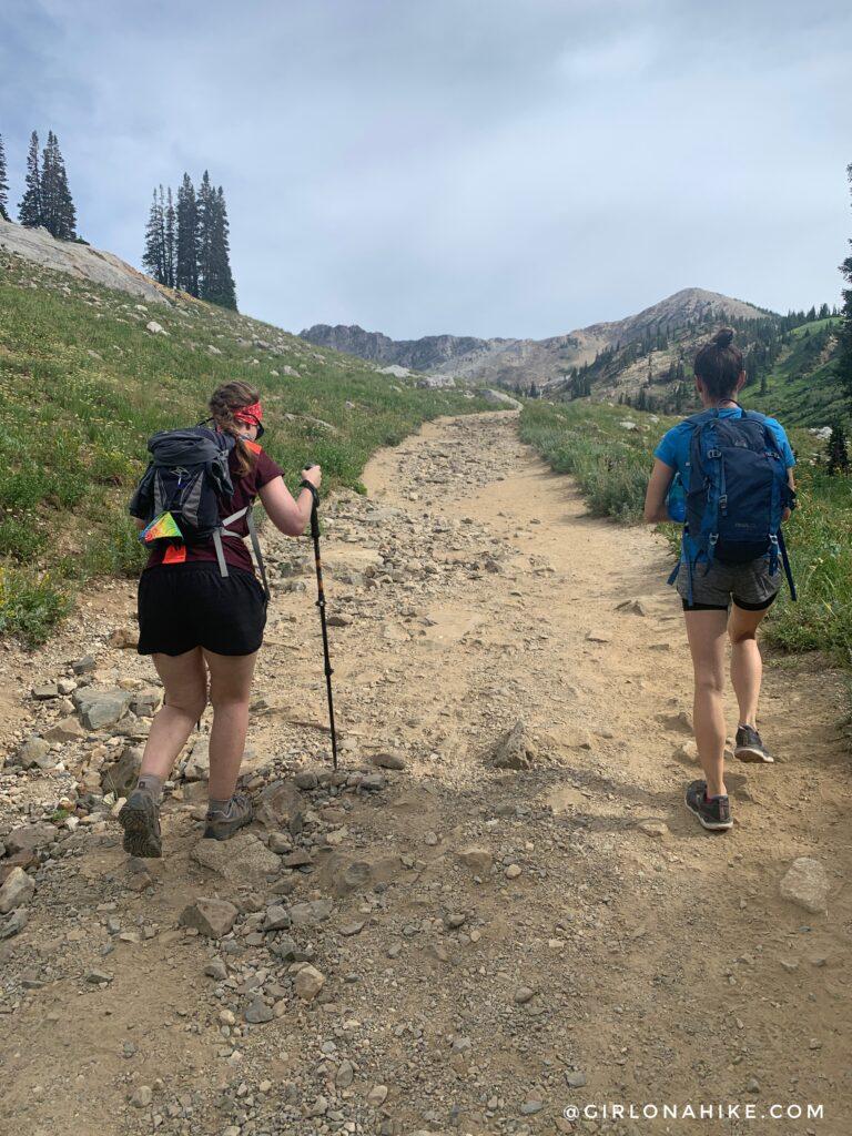 Hiking to Sunset Peak via Catherine Pass