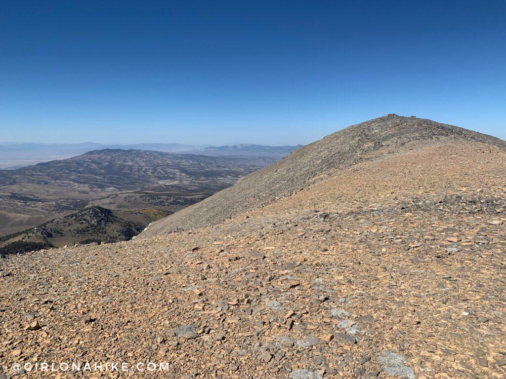 Hiking Mt.Moriah, Nevada