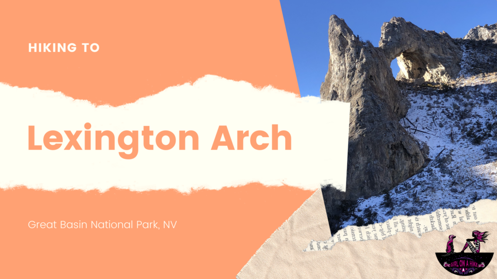 Hiking to Lexington Arch, Great Basin National Park